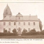 Ansicht des Pfarrhauses; herausgegeben vom Hunsrücker Dombau-Verein, daher um 1913 entstanden