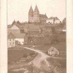 Unterstraße mit Hunsrückdom von Süden; herausgegeben vom Hunsrücker Dombau-Verein, daher um 1913 entstanden
