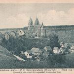Ortsansicht von Osten; am 12.06.1925 postalisch gelaufen