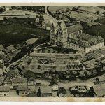 Älteste bisher bekannte Luftaufnahme des Ortes von Süden; am 02.09.1931 postalisch gelaufen