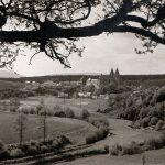 Ortsansicht von Nordosten; Aufnahme vermutlich zwischen 1935 und 1945 entstanden; ungelaufen